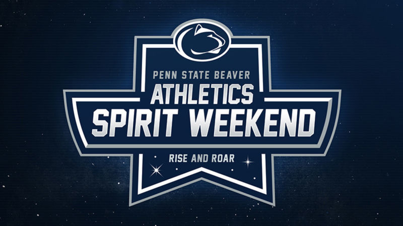 Penn State Beaver Athletics Spirit Weekend logo