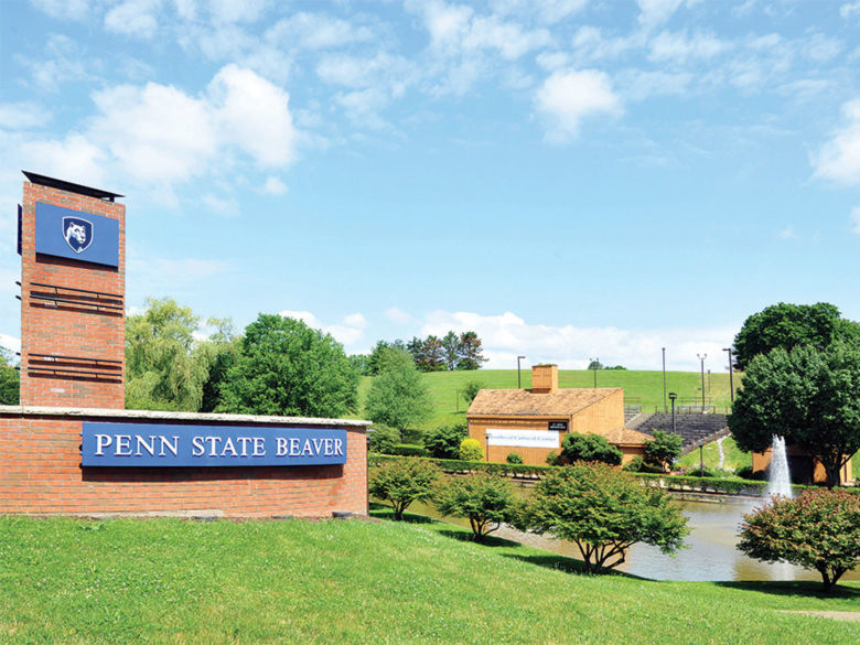 Penn State Beaver campus entrance