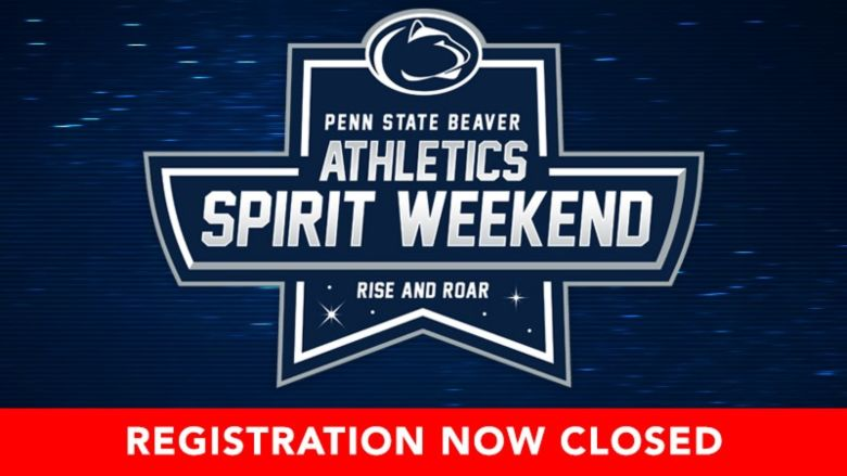 Spirit weekend registration closed
