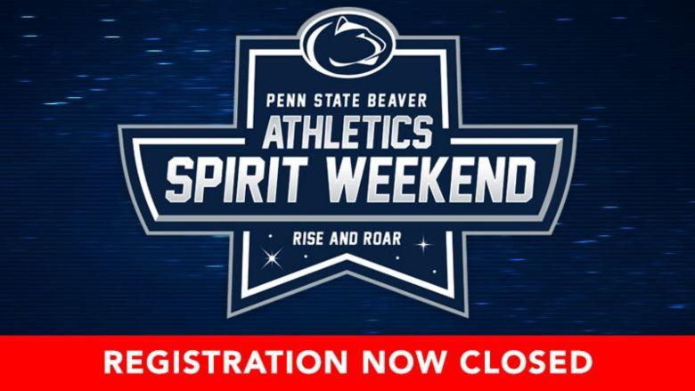 Spirit weekend registration closed