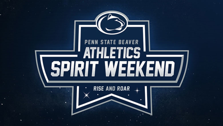 Penn State Beaver Athletics Spirit Weekend logo